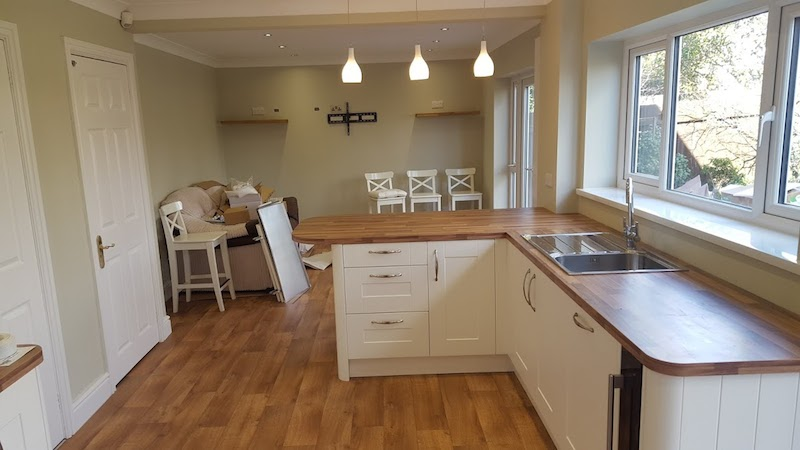 shaker style kitchen Cardiff and Vale Property Improvement