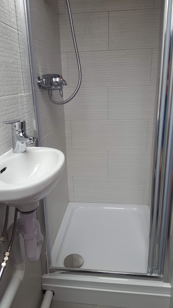 small shower