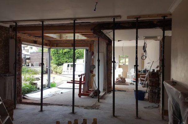 Penarth Builders Roof Support